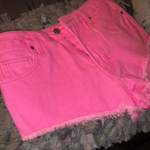 Brand New Pink Forever21 Shorts